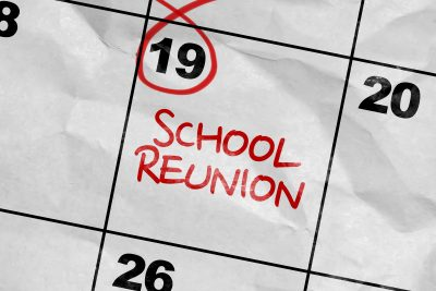 school reunion on calendar