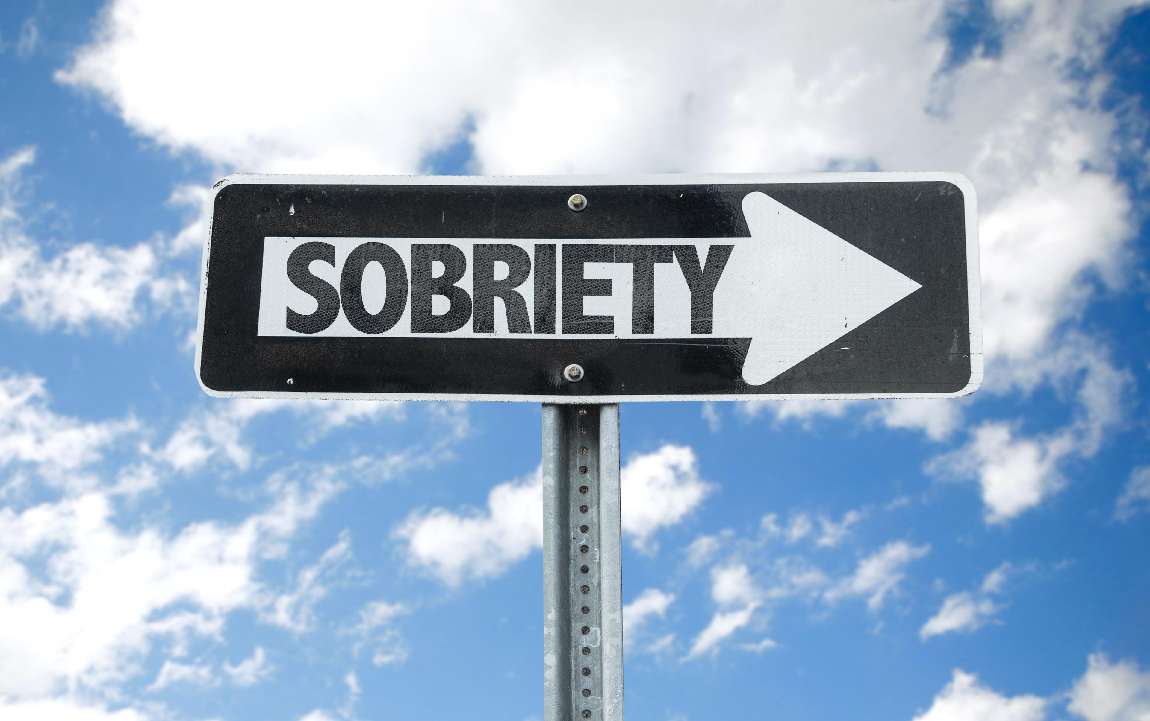 sobriety sign